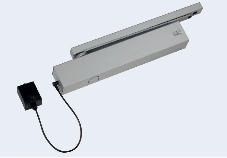 dormakaba - elektrikli açık tutma mekanizması